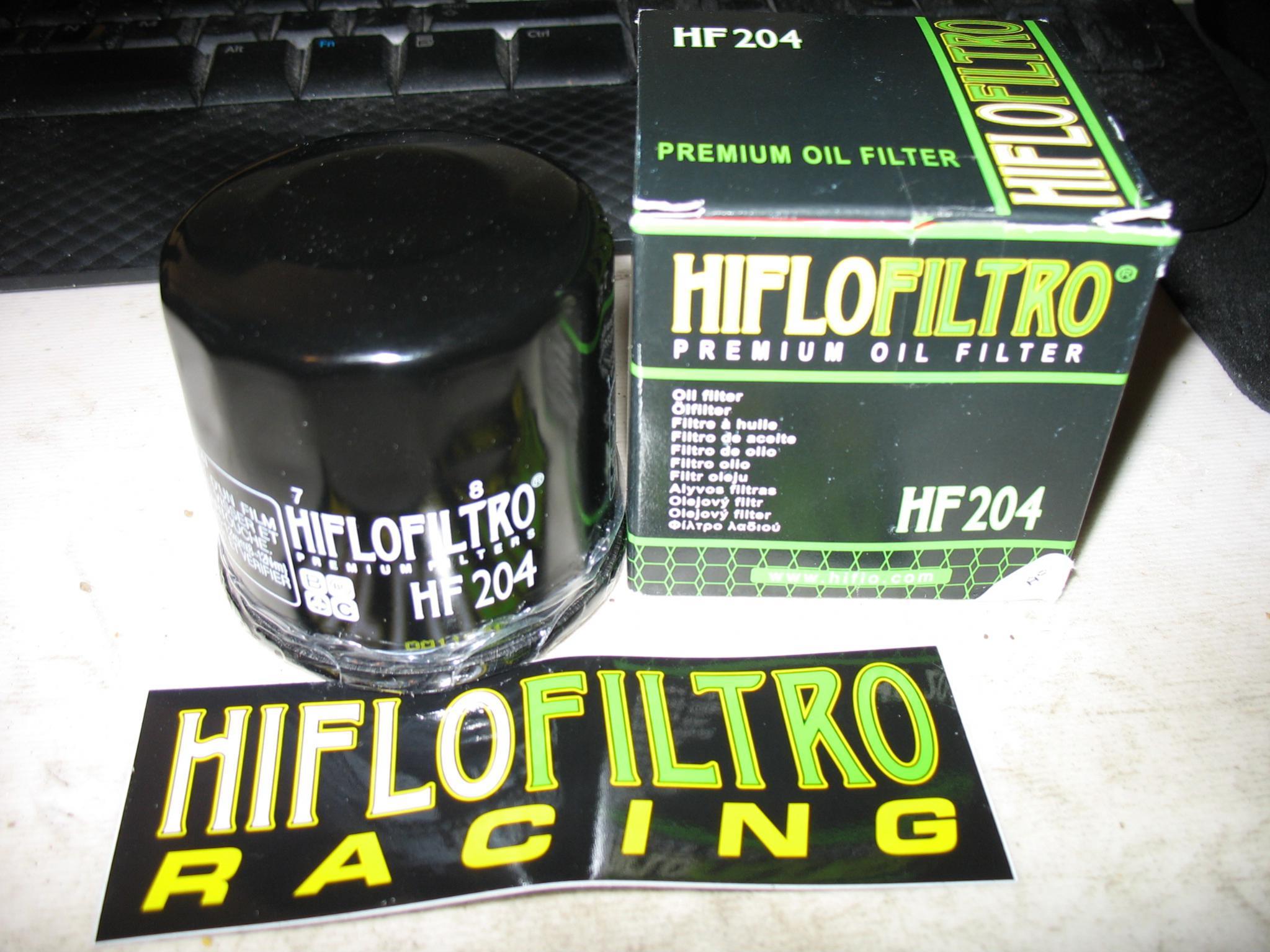 Yamaha YZF-R1 S2016 HiFlo Race Racing Oil Filter HF204RC