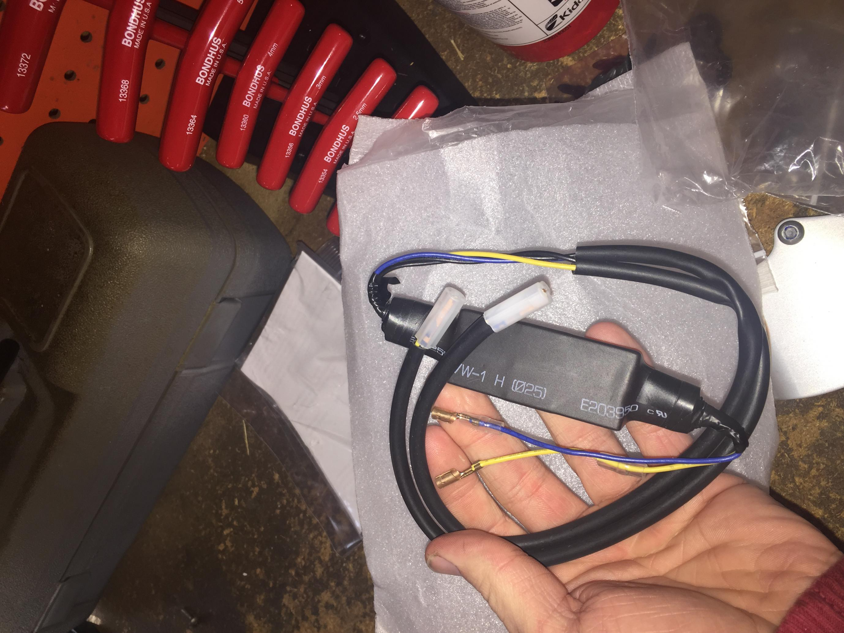 Integrated Tail Light Wiring Help Yamaha R6 Forum Yzf Forums Turn Signal Diagram Click Image For Larger Version Name Img 5797 Views 233 Size 5322