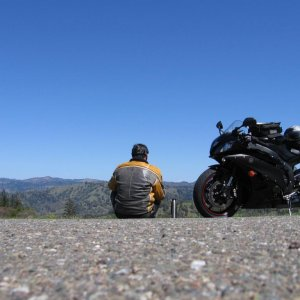 Sport touring on the R6.  500+ miles in one day.