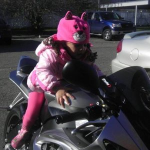 My little girl who want's a mini r6!